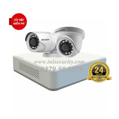 Trọn bộ 2 camera Hikvison HD1080P Combo 01