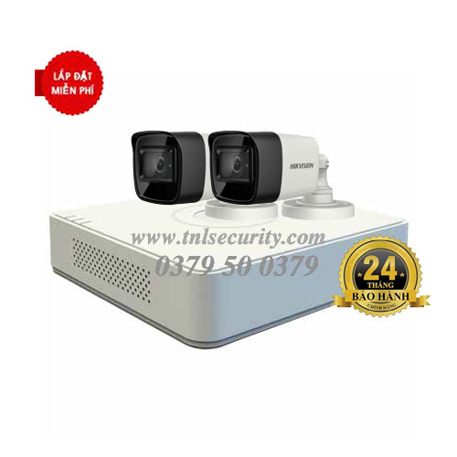 Trọn bộ 2 camera Hikvison HD1080P Combo 02
