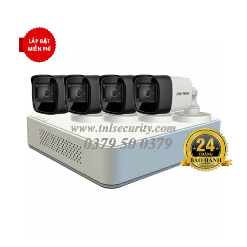 Trọn bộ 4 camera Hikvison HD1080P Combo 01